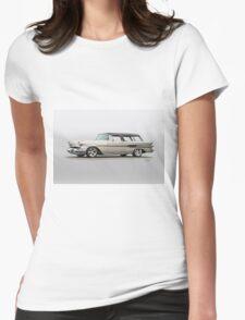 1957 Pontiac Starliner Safari Wagon Womens Fitted T-Shirt
