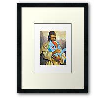 Jesus Loves Rainbow Dash Framed Print