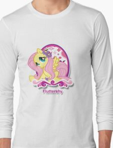 Fluttershy Icon  Long Sleeve T-Shirt