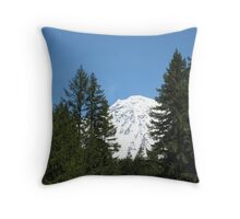 Mount Rainier, Washington USA Throw Pillow
