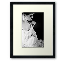 I Am Half Sick Of Shadows Framed Print