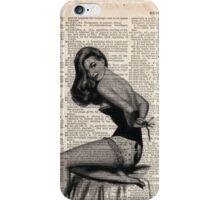 Pin up girl iPhone Case/Skin