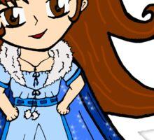 Chibi Snow Queen (Snowflake Triplet) Sticker