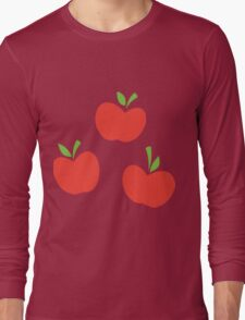 AppleJack Cutie Mark Long Sleeve T-Shirt