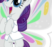 Rarity Flies Sticker