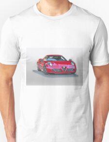 2015 Alfa Romeo C4 Coupe Unisex T-Shirt