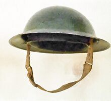The British Brodie Helmet  by PictureNZ