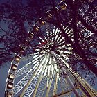 Ferris Wheel at Dusk by Shannon Kerr