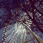 Ferris Wheel at Dusk by Shannon Kerr