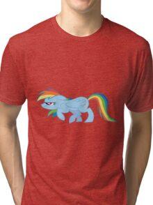 Rainbow Sneak Tri-blend T-Shirt