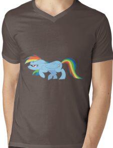 Rainbow Sneak Mens V-Neck T-Shirt
