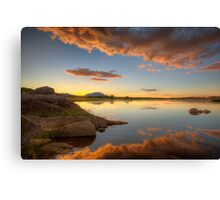 Dramatic Ending Canvas Print