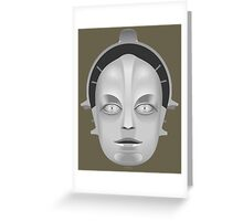 Metropolis Robot Greeting Card