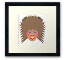 Greatest Tina Framed Print
