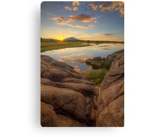 Down To Sunset Canvas Print