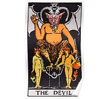 Tarot Card - The Devil Poster