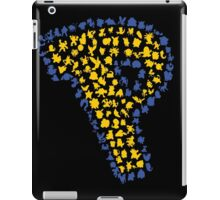 Pokesilhouettes iPad Case/Skin