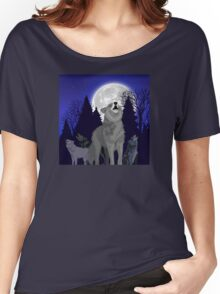 Howling Wolf Pack Women's Relaxed Fit T-Shirt