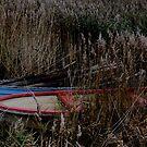 fishing boats by Heike Nagel