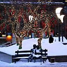 Montreal - Christmas Holidays by Jean-Luc Rollier