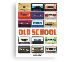 Cassettes Canvas Print