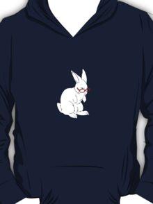Glasses Rabbit. T-Shirt