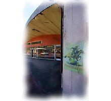 Wolverine movie set, FARO Hardware Store, Picton NSW Photographic Print