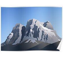 Pelmo - Dolomiti Poster