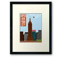 Super New York Comic Con 2012 Framed Print