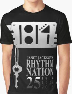 Rhythm Nation's 25th anniversary Graphic T-Shirt