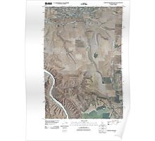 USGS Topo Map Indiana ID Lewiston Orchards South 20110429 TM Poster