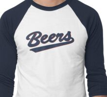 the milwaukee beers Men's Baseball ¾ T-Shirt