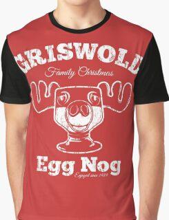 Griswold Christmas Egg Nog Graphic T-Shirt