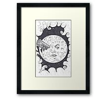 A Trip To The Moon Framed Print