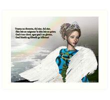 Trasna na dTonnta (Across the Waves) Art Print