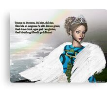 Trasna na dTonnta (Across the Waves) Canvas Print