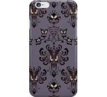 Haunted Mansion - the wallpaper eyes iPhone Case/Skin