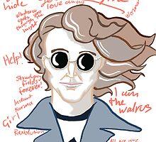 "John Lennon ""You say I am a Dreamer"" by Maria Matthews"