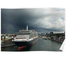 Queen Victoria, Stavanger, Norway. Poster