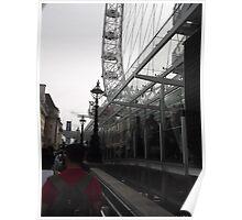 London Eye/Queues 2 -(260812)- Digital photo Poster