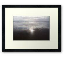 Piha, New Zealand Framed Print