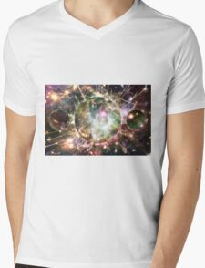 Subliminal Mens V-Neck T-Shirt