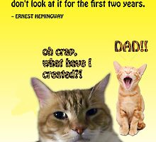 Father's Day Kitties by Kristie Theobald