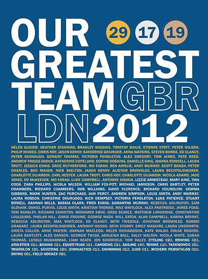 Our Greatest Team 2012 by Matt Burgess