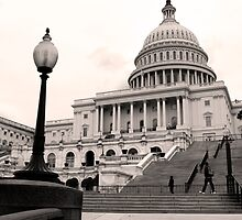 On the Capitol Steps, Washington D.C. by strangelight