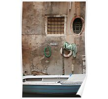 Down the alley, Venice Poster