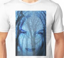 The blue lady of the woods Unisex T-Shirt