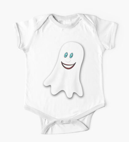 A Spooky Ghost T-shirt, etc. design One Piece - Short Sleeve