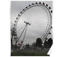 London Eye/Full wheel -(260812)- Digital photo Poster
