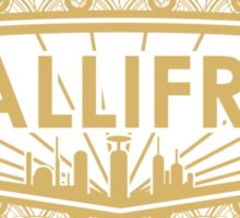 Gallifrey - No Gods or Kings, only Timelords Sticker